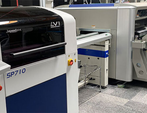 Speedprint 710AVi Printer Helps Titan Circuits to Say Yes